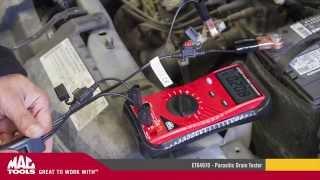 Download Mac Tools - ET64970 - Parasitic Drain Tester Video