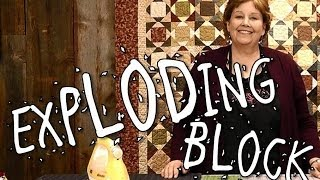Download Exploding Block Quilt - Quilting Made Easy Video