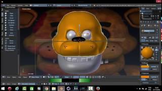 C4D FNAF]Bonnie v9 SPEED MODELLING | Part 1/2 Free Download