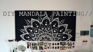Download RE-UPLOAD// DIY Spring Room Decor Mandala Painting// Video