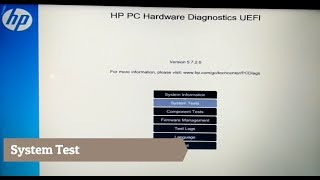 Download HP pc hardware diagnostics UEFI Video