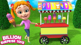 Download Ice cream song | Baby Girl Sing & Dance - Learn Colors Ice cream man truck Part 2 for Kids children Video