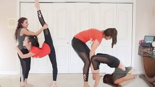 Download Partner Stretches to get VERY FLEXIBLE Video