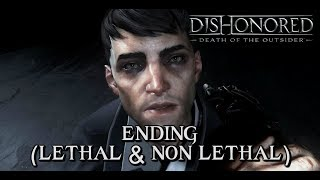Download Dishonored: Death of the Outsider - ENDINGS (Lethal & Non-Lethal Ending) Video