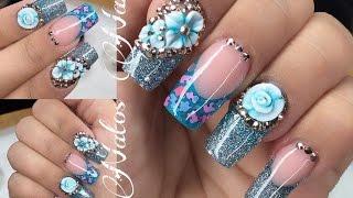 Download Uñas Acrilicas | Diseño en Azul | Natos Nails Video