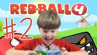 Download Red Ball 4 | Part 2 | BOSS FIGHT!! Mobile Games | KID Gaming Video