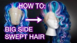 Download Big Side Swept Wig Styling Tutorial Video