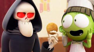 Download Funny Animated Cartoon | Spookiz Zizi The Cookie Monster | Cartoon for Children Video