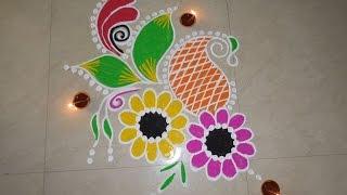 Download Diwali Special- Freehand Rangoli Design (NEW) Video