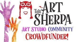 Download The Art Sherpa Art Glam Studio Community Crowdfunder Video