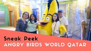 Download A Sneak Peek of Angry Birds World Qatar | Karen Faith Vlogs Video