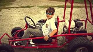 Download 8 years old building a GoKart Video