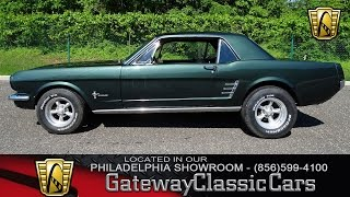 Download 1966 Ford Mustang, Gateway Classic Cars Philadelphia - #095 Video