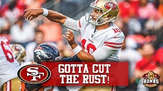 Download Live! 49ers Jimmy Garoppolo Under Pressure To Recover Form In 3 Weeks Video