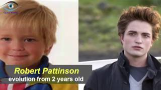 Download Robert Pattinson - from 2 to 31 years old Video
