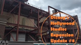 Download Star Wars Land Construction, Muppets Restaurant - Hollywood Studios Expansion Update #8 Video
