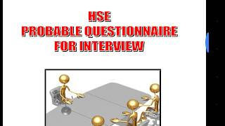 Download Oil and gas safety interview questions Video
