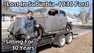 Download Lost In Suburbia 1936 Ford- Sitting for 30 Years Video