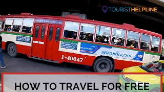 Download BANGKOK FREE BUS : Travel anywhere without Money : Do as the locals do Video