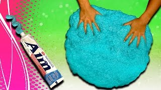 Download How to make Toothpaste Slime! DIY Giant Size slime without borax and liquid starch Video