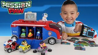 Download Paw Patrol Toys Mission Cruiser And Mission Pup Pad Unboxing Fun With Ryder Ckn Toys Video