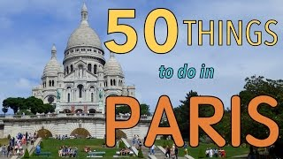 Download 50 Things to do in Paris, France | Top Attractions Travel Guide Video