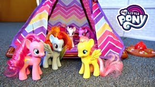 Download My Little Pony Camping Camper Van with New Tent! | Mommy Etc Video