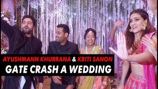 Download Ayushmann Khurrana & Kriti Sanon crash a wedding | Bareilly Ki Barfi Video