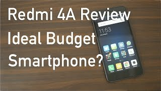 Download Redmi 4A Budget Smartphone Review with Pros & Cons Video