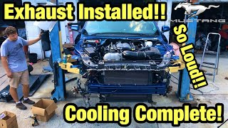 Download Rebuilding My Totaled Wrecked 2018 Ford Mustang GT From Copart Salvage Auction Cooling Complete Video