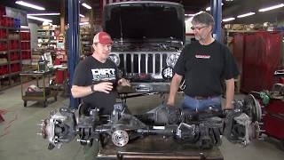 Download Dynatrac First Look at Factory Jeep JL Axles Video