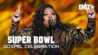"Download Tasha Cobbs Leonard Feels the Spirit During ""This is A Move""   Super Bowl Gospel '19 Video"