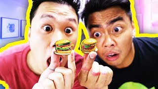Download Making The Smallest Mini Burgers You've Ever Seen! (ft. DavidParody) Video