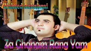 Download Waheed Achakzai - Za Ghanam Rang Yam Video