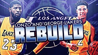 Download REBUILDING THE 2018 LOS ANGELES LAKERS WITH LONZO BALL AND PAUL GEORGE! Video