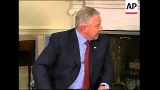 Download Bush meets Prime Minister Ivo Sanader of Croatia Video