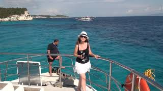 Download Cruise to Paxi Island from Parga, Greece, September 2017 Video