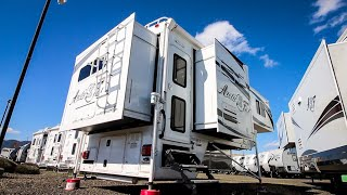 Download Only ONE BUILT in the WORLD   Arctic Fox 1163 TRUCK CAMPER Full Tour !! Video