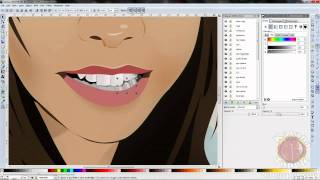 Download Inkscape Vector Art Time Lapse Face Portrait Speed Drawing Akichuu Video