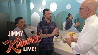 Download Jimmy Kimmel and Guillermo Learn How to Wash Their Hands Video