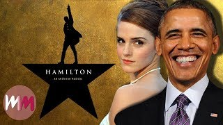Download Top 10 Celebrities Who LOVE Hamilton Video