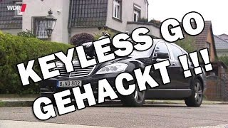 Download Keyless Go / Keyless Access gehackt - WDR - car hacking - Relay Station Attack Video