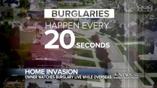 Download Home Invasion Caught on Camera From Nearly Half a World Away Video