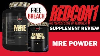 Download REDCON1 MRE POWDER SUPPLEMENT REVIEW // IllPumpYouUp Video