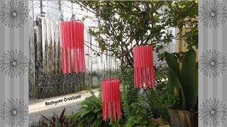 Download DIY Lampion dari Bekas Sedotan dan Botol Air Mineral Video