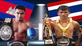 Download Meun Sophea vs Lay Phayak(thai), Khmer Boxing Bayon 18 June 2017, Kun Khmer vs Muay Thai Video