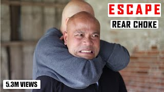 Download How to Escape a Standing Rear Choke Video