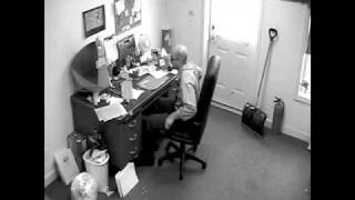 Download Man tears his office up Needs an Allsteel Acuity Video