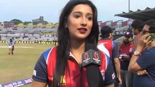 Download Bengali Actress Sayantika Banerjee Special 121 in Celebrity Cricket League Video