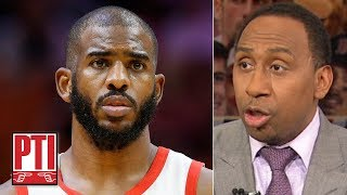 Download Chris Paul could join LeBron on the Lakers if he allows OKC to buy him out - Stephen A. | PTI Video